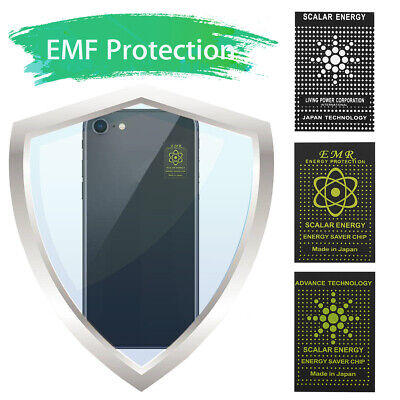 5x Anti Radiation EMR Scalar Sticker Energy EMF Protection Shield Mobile Phone • 4.76£