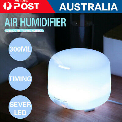 AU33.99 • Buy 500ml Essential Air Mist Oil Aroma Diffuser Ultrasonic Humidifier Aromatherapy