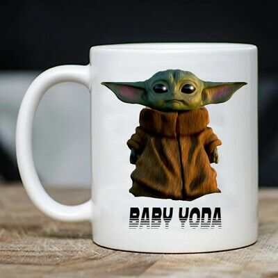 $9.99 • Buy Baby Yoda, Star Wars, Birthday, Woman Day Coffee Mug