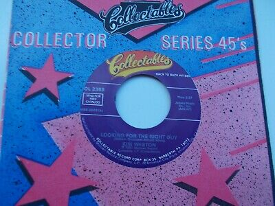 Kim Weston Looking For The Right Guy / Love Me All The Us 45 Collectables Motown • 4.99£