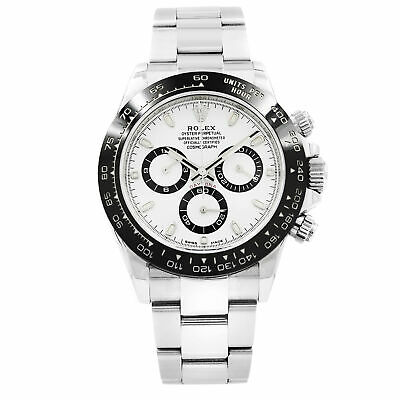 $ CDN35322.23 • Buy Rolex Cosmograph Daytona 116500LN White Dial Stainless Steel Automatic Men Watch