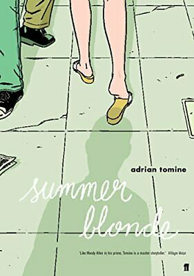 Summer Blonde By Adrian Tomine Paperback Book The Cheap Fast Free Post • 11.99£