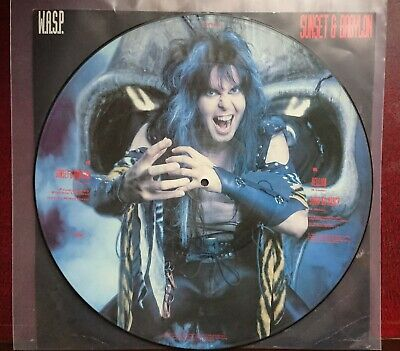 Wasp - Sunset & Babylon - 12  Picture Disc Single Vinyl - Capitol Records 1993 • 10.95£