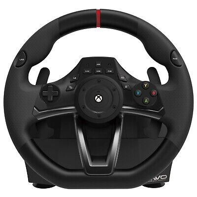 $156.40 • Buy Xbox One Steering Wheel And Pedal Set Racing Gaming Simulator Driving PC Real