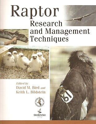 £32.45 • Buy BIRD DAVID FALCONRY BOOK RAPTOR RESEARCH AND MANAGEMENT TECHNIQUES Paperback NEW