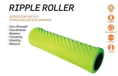 AU23.50 • Buy New Design MoJo Ripple Foam Roller Physio Muscle Massage Therapy Deep Tissue