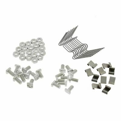 £5.89 • Buy Genuine ALM Greenhouse Service Repair Kit Includes Clips Nuts And Bolts GH010