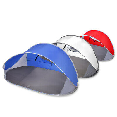 AU29.99 • Buy Mountview Pop Up Tent Camping Beach Tents 4 Person Portable Hiking Shade Shelter