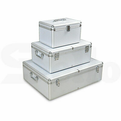 AU59.99 • Buy Aluminium CD Case DVD Case Bluray Lock Storage Case Box 240/500/1000 Discs