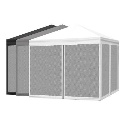 AU129.99 • Buy Mountview Gazebo Pop Up Marquee Outdoor Canopy 3x3m Wedding Tent Mesh Side Wall