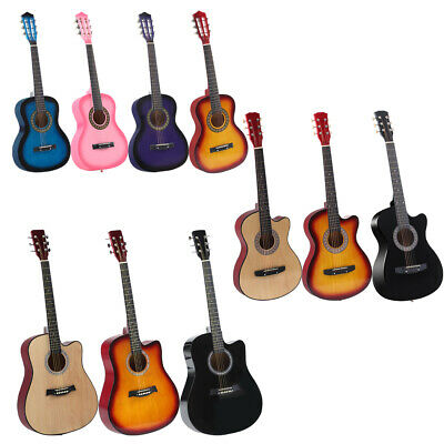 AU69.99 • Buy BoPeep Acoustic Classical Guitar 34''/38''/41''Wooden Guitar Stand String Tuner