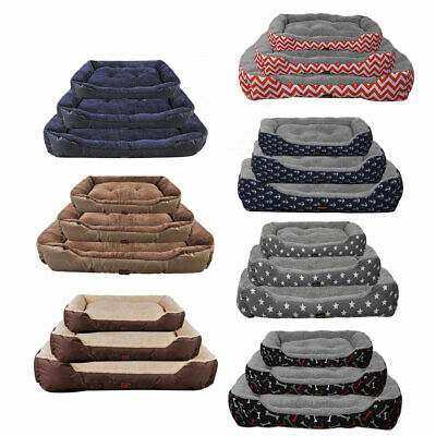 AU26.99 • Buy PaWz Pet Bed Mattress Dog Cat Pad Mat Cushion Soft Winter Warm Large Washable