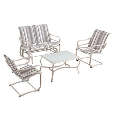 AU199.99 • Buy Outdoor Furniture Garden Patio Table Dining Chair Swing Chairs Sofa Set Lounge