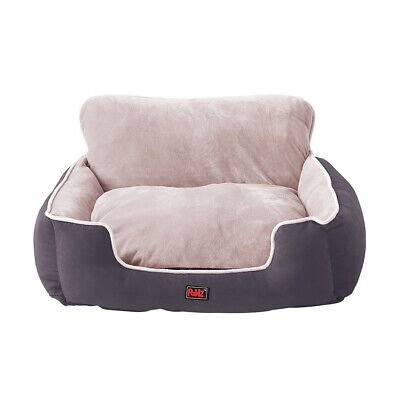 AU47.99 • Buy PaWz Pet Bed Dog Beds Bedding Cushion Soft Pad Calming Puppy Cat Pillow Grey