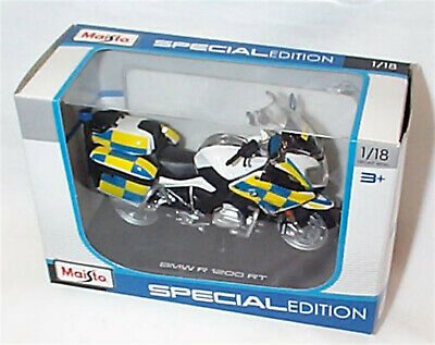 BMW R 1200 RT Police Motorcycle New In Box 1-18 Scale  • 13.75£