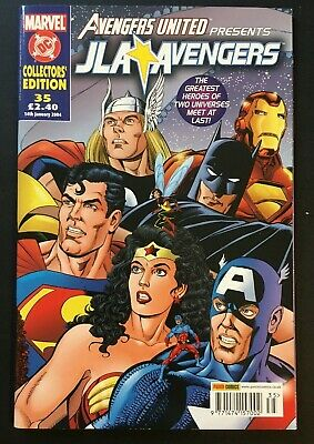 The Avengers United. 35. Justice League America. Dc And Marvel Universe's Meet.  • 6.99£