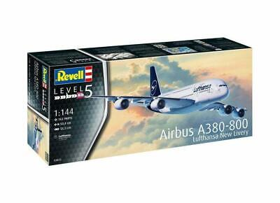 Revell Airbus A380-800 Lufthansa  New Livery  1:144 Scale Kit. Level 5 #03872 • 25.12£