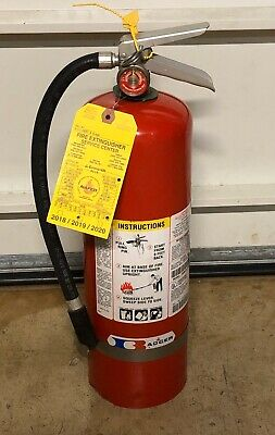 $21 • Buy Badger Dry Chemical ABC 10 Lb Fire Extinguisher Model 10MB-8H 1999