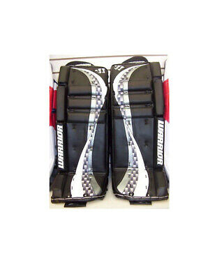 $279.99 • Buy New Warrior Swagger Int Goalie Pads 29  +1  Black White Ice Hockey Goal Leg Pad