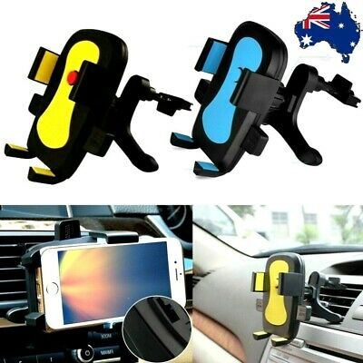 AU9.50 • Buy Universal Car Air Vent Mount Holder Cradle Stand Bracket For Mobile Cell Phone