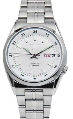 $ CDN136.86 • Buy Seiko 5 Automatic SNK559J1 White Dial Stainless Steel Men's Watch