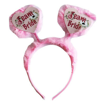 Team Bride Boppers Hen Party Night Do Accessories Squad Tribe Sashes Favours • 1.99£