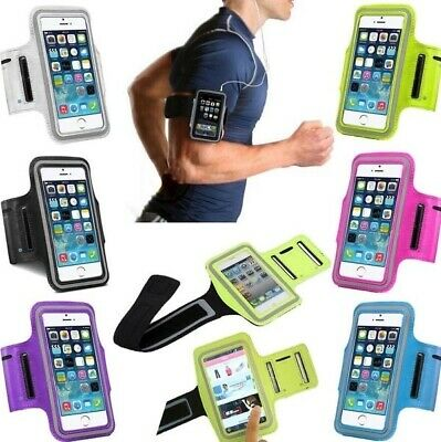 £4.98 • Buy Sports Running Jogging Gym Arm Band Case For SAMSUNG A21s A41 A51 A71 S20 S10 E
