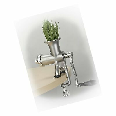 $244.99 • Buy Miracle Exclusives Stainless Steel Manual Wheatgrass Juicer MJ445