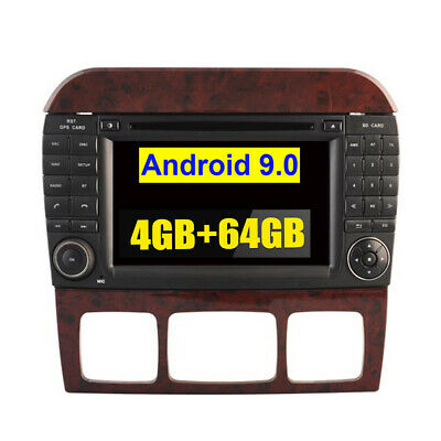 $404.19 • Buy Android 9.0 Car GPS Radio Stereo Navi For Mercedes Benz S Class W220 1998 - 2006