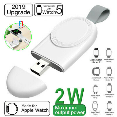 $ CDN6.58 • Buy For Apple Watch Series 5 4 3 2 1 Magnetic Charging Dock Mini USB Plug Charger
