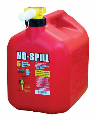 $ CDN59.06 • Buy No-Spill 1450 Poly Gasoline Fuel Gas Can CARB & EPA Compliant 5 Gallon Red NEW