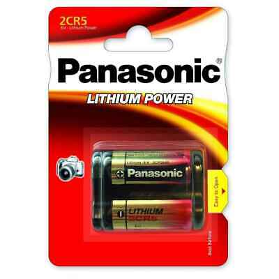$ CDN25.74 • Buy Panasonic 2CR5 Batterie Lithium 6V