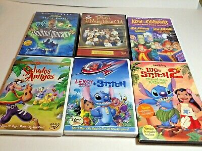 $ CDN12.99 • Buy Lot Of 6 Childrens Kids DVDs Lilo & Stitch Alvin & The Chipmunks Saludos Amigos