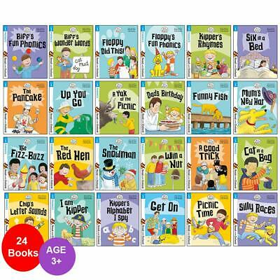 £29.99 • Buy Biff, Chip And Kipper Stage 1 Read With Oxford 3+ (24 Books Collection Set)