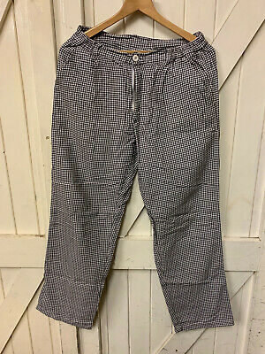 £8.99 • Buy German Army Chef Trousers, Cool Re-made High Street Look, Or Work