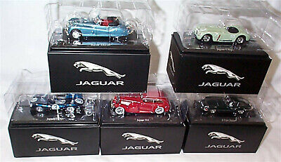 Jaguar E-Type SS1 C & D Type Xk140 Pick From List 1-43 Scale Atlas Editions New • 14.95£