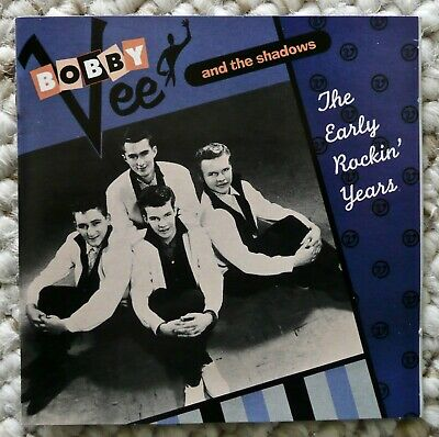 $14.50 • Buy Bobby Vee And The Shadows CD  The Early Rockin' Years  ERA/CEMA Records 1995