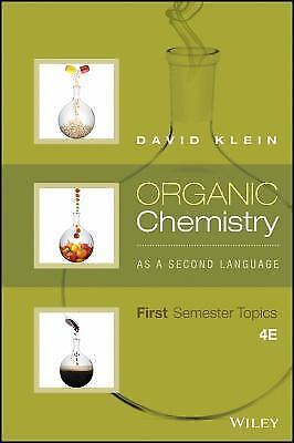 $50 • Buy Organic Chemistry As A Second Language : First Semester Topics By David R....
