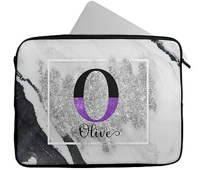 £15.99 • Buy Personalised Any Name Marble Laptop Case Sleeve Tablet Bag Chromebook Gift 6