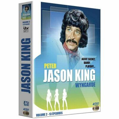 DVD - Jason King - Volume 2 - 13 épisodes - Peter Wyngarde, Anne Sharp, Ronald L • 41.13£