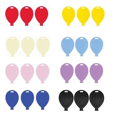 £3.95 • Buy Balloon Shape Weights (Oaktree) Plastic Wedding Birthday Event Party Decorations