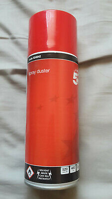 COLLECTION ONLY 5 Star Compressed Air Gas Spray Duster Cleaner Can PC 400ml • 6£