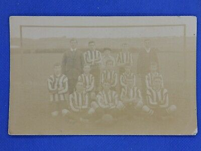 Photographic Social History And Sport Postcard - Unknown Football Team • 2£