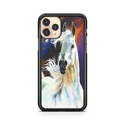 $8.32 • Buy Majestic White Water Painted Elegant Luscious Horse Animal Fine Phone Case Cover