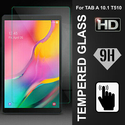 AU9.99 • Buy For Samsung Galaxy Tab A 10.1  2019 T510 T515 Tempered Glass Screen Protector