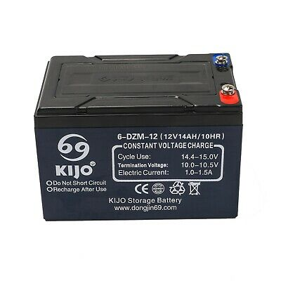 AU66.99 • Buy 12V 14Ah SLA AGM 6-DZM-12 Battery For NBN Security Alarm Eaton ToyCar Scooter