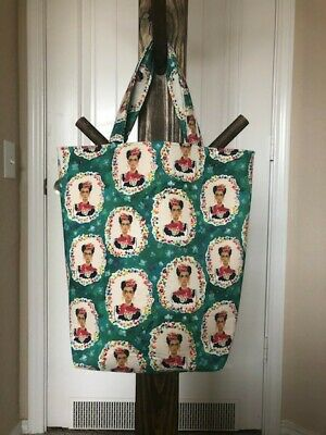 $30 • Buy Handmade Frida Kahlo Tote Bag