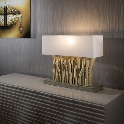 Beautiful Unique And Modern Driftwood Table Lamp / Light Lighting Goa • 319£