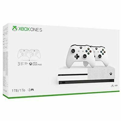 $379.62 • Buy Xbox One S Two Controller Bundle (1TB) Includes Xbox One S. Pre-Owned