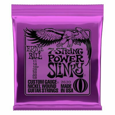 AU10.29 • Buy Ernie Ball Electric 7-String Power Slinky Guitar Strings